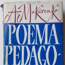 Libros de segunda mano: ANTON MAKARENKO, POEMA PEDAGÓGICO TERCERA PARTE. Lote 129342039