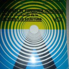 Libros de segunda mano: CUADROS DE FONOLOGÍA CASTELLANA PARA LA ENSEÑANZA DE LA LECTURA Y LA ESCRITURA. MARTA MATA. Lote 107620883