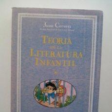 Libros de segunda mano: TEORIA DE LA LITERATURA INFANTIL (3ª ED.) - JUAN CERVERA (1ª ED. MENSAJERO 1991). Lote 130776740