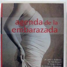 Libros de segunda mano: AGENDA DE LA EMBARAZADA, EDEBE 2010. Lote 130841744