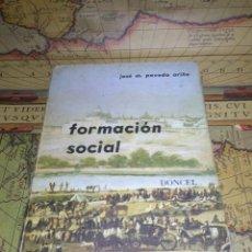 Libros de segunda mano: FORMACIÓN SOCIAL DONCEL, JOSÉ M. POVEDA ARIÑO. Lote 133126662