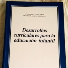 Libros de segunda mano - Desarrollos curriculares para la educación infantil;Mª Dolores Teres Teres,Felicidad García Gonzalez - 133240506