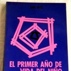 Libros de segunda mano: EL PRIMER AÑO DE VIDA DEL NIÑO; RENE SPITZ - FONDO DE CULTURA ECONÓMICA 1984. Lote 133243110