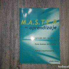 Libros de segunda mano: M.A.S.T.E.R. EN APRENDIZAJE DE COLIN ROSE 2002.. Lote 136311750