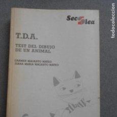 Libros de segunda mano: TEST DEL DIBUJO DE UN ANIMAL. Lote 155950674