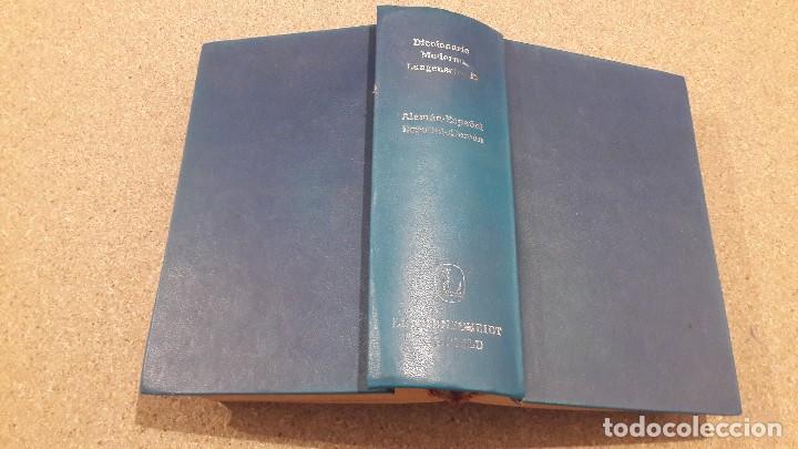 DICCIONARIO MODERNO LANGENSCHEIDT...ESPAÑOL ALEMÁN...1974... (Libros de Segunda Mano - Ciencias, Manuales y Oficios - Pedagogía)
