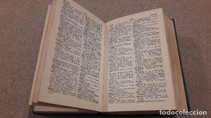Libros de segunda mano: DICCIONARIO MODERNO LANGENSCHEIDT...ESPAÑOL ALEMÁN...1974... - Foto 4 - 139405826