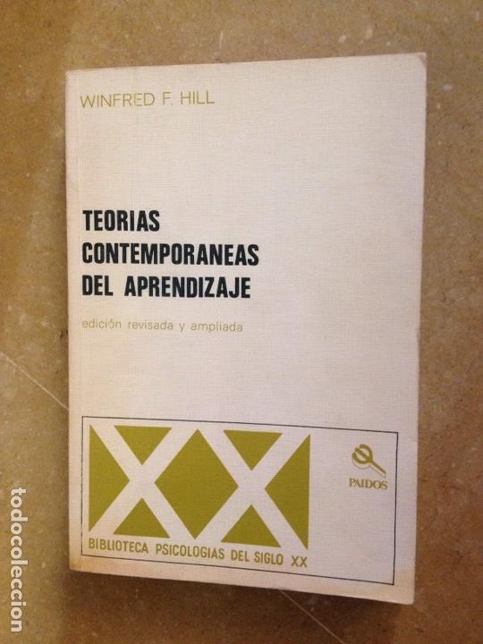 TEORÍAS CONTEMPORÁNEAS DEL APRENDIZAJE (WINFRED F. HILL) (Libros de Segunda Mano - Ciencias, Manuales y Oficios - Pedagogía)