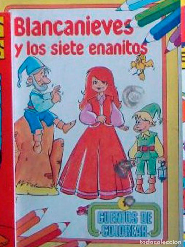 2 Libros Blancanieves Popy Color Para Colorear Comprar Libros De