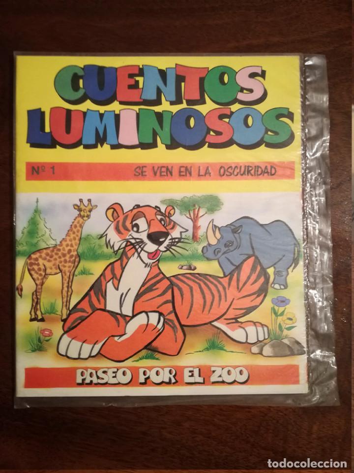 CUENTOS LUMINOSOS Nº 1 SE VEN EN LA OSCURIDAD IRU 1987 PRECINTADO (Libros de Segunda Mano - Ciencias, Manuales y Oficios - Pedagogía)