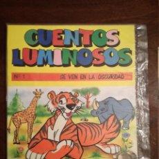 Libros de segunda mano: CUENTOS LUMINOSOS Nº 1 SE VEN EN LA OSCURIDAD IRU 1987 PRECINTADO. Lote 139877750