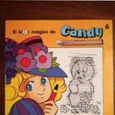 Libros de segunda mano: 3 LIBROS CANDY COLECCIÓN COMPLETA DIBUJOS ANIMADOS TV EL LÁPIZ MÁGICO EDITORIAL ROMA 1986 NUEVO. Lote 139887134