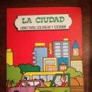 Libros de segunda mano: 3 LIBROS DE FHER EL MAR-LA CIUDAD-EL PUEBLO 2-3-4 PARA COLOREAR Y ESCRIBIR GRAN FORMATO 1985 NUEVO. Lote 139888986