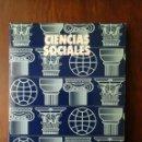 Libros de segunda mano: CIENCIAS SOCIALES. COL. ESTUDIOS Y EXPERIENCIAS EDUCATIVAS.. Lote 139972038