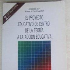 Libros de segunda mano: EL PROYECTO EDUCATIVO DE CENTRO: DE LA TEORÍA A LA ACCIÓN EDUCATIVA. ROBERTO REY, JUANA M.SANTAMARÍA. Lote 140162678