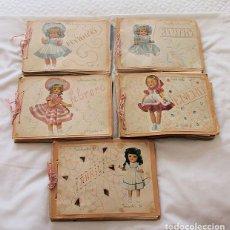 Libros de segunda mano: 5 CUADERNOS ESCOLARES MANUSCRITOS DIDACTICOS 1956 MAGISTERIO. Lote 140527754