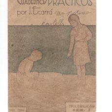 Libros de segunda mano: 1 CUADERNO PRATICO ANTIGUO MATEMATICAS. Lote 140900162