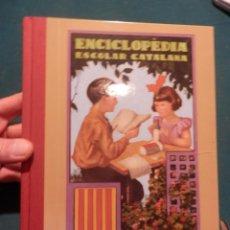 Libros de segunda mano: ENCICLOPÈDIA ESCOLAR CATALANA - PER JOSEP DALMANU I CARLES 1931 - GRAUS ELEMENTALS I MIG - FACSÍMIL. Lote 141463014