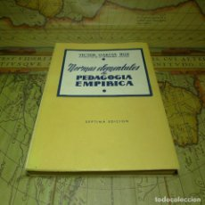 Libros de segunda mano - NORMAS ELEMENTALES DE PEDAGOGÍA EMPÍRICA. VÍCTOR GARCÍA HOZ. MADRID 1970. - 141475550