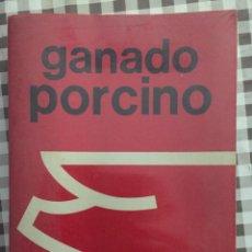 Libros de segunda mano: GANADO PORCINO, CARLOS BUXADE CARBO. Lote 142113794