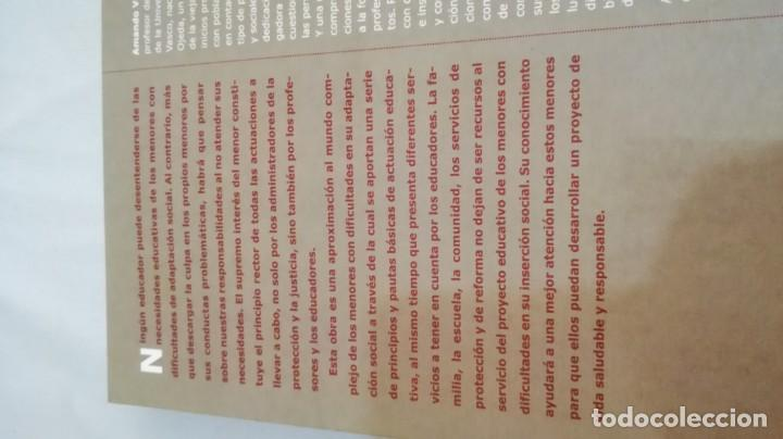 Libros de segunda mano: LA INFANCIA ROBADA A PROPOSITO DE LOS NIÑOS VULNERABLES/ AMANDO VEGA FUENTE/ COLECCIÓN REDES - Foto 3 - 144452090
