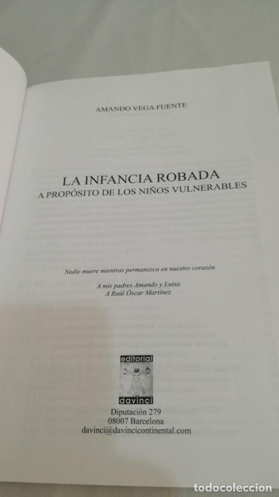 Libros de segunda mano: LA INFANCIA ROBADA A PROPOSITO DE LOS NIÑOS VULNERABLES/ AMANDO VEGA FUENTE/ COLECCIÓN REDES - Foto 5 - 144452090