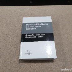 Libros de segunda mano: DUDAS Y DIFICULTADES DE LA LENGUA ESPAÑOLA.....LAROUSSE.... Lote 144558838