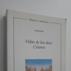 Libros de segunda mano: VIDA DE LOS SOCE CÉSARES - SUETONIO TRANQUILO, CAYO. Lote 145084649