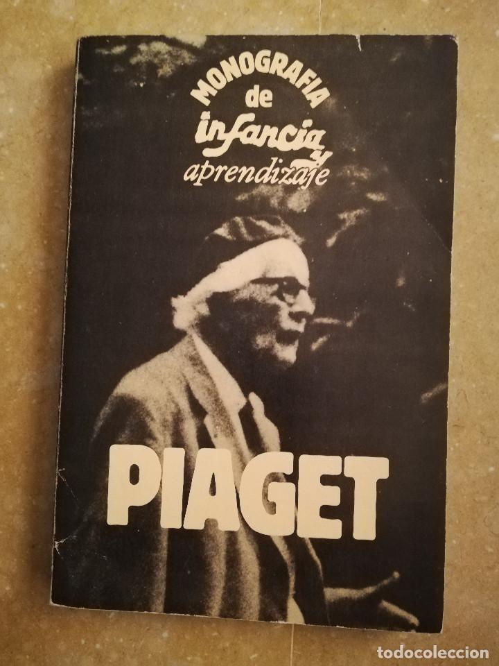 PIAGET. MONOGRAFÍA DE INFANCIA Y APRENDIZAJE (Libros de Segunda Mano - Ciencias, Manuales y Oficios - Pedagogía)