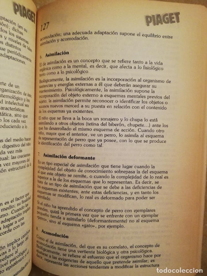 Libros de segunda mano: PIAGET. MONOGRAFÍA DE INFANCIA Y APRENDIZAJE - Foto 4 - 145445098