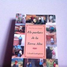 Libros de segunda mano: ELS PARLARS DE LA TERRA ALTA. Lote 145497220