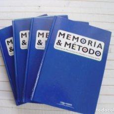 Libros de segunda mano - Memoria y Método, Ed. Orbis&Fabris - 4 tomos - 145504886