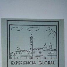 Libros de segunda mano: EXPERIENCIA GLOBAL DE LECTO-ESCRITURA - BARTOLOMÉ J. GÓMEZ BONILLO - ALMERÍA 1983. Lote 145994754