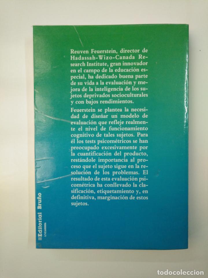 Libros de segunda mano: MODIFICABILIDAD COGNITIVA Y PEI. - Mª DOLORES PRIETO SÁNCHEZ. EDITORIAL BRUÑO. TDK357 - Foto 2 - 146003182