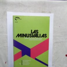Libros de segunda mano: LAS MINUSVALIAS MARIO ALFONSO DE SANJUAN Y PILAR IBAÑEZ LOPEZ . Lote 147753322