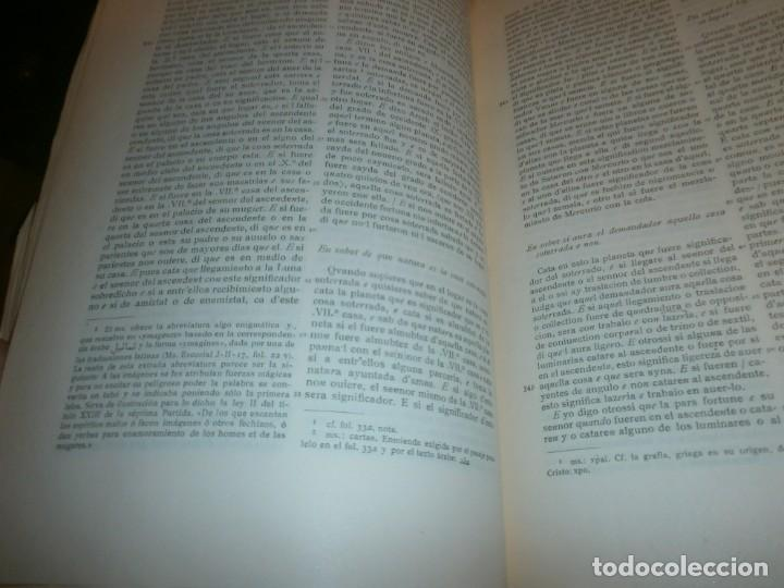 Libros de segunda mano: El libro Conplido en los Uidizios de las Estrellas - Aly Aben Ragel - Real Academia Española 1954 - Foto 3 - 147771170