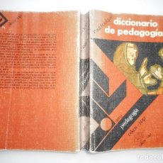 Libros de segunda mano: PAUL FOULQUIÉ DICCIONARIO DE PEDAGOGÍA Y92086. Lote 148164274