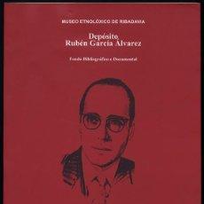 Libros de segunda mano: DEPÓSITO RUBÉN GARCÍA ALVAREZ: FONDO BIBLIOGRÁFICO Y DOCUMENTAL. Lote 149441974