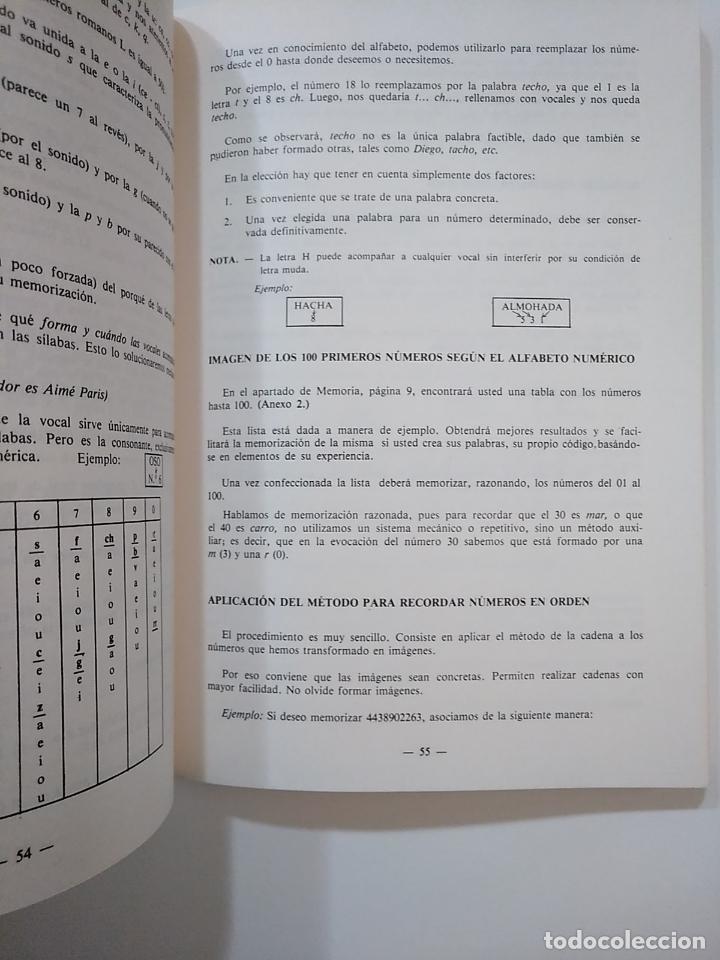 Libros de segunda mano: METODO DE ESTUDIO MEMORIA AUDIENCIA Y CONCENTRACION. CURSO 1. INSTITUTO ILVEM. TDK364 - Foto 2 - 151230846