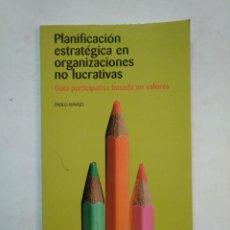 Libros de segunda mano: PLANIFICACION ESTRATEGICA EN ORGANIZACIONES NO LUCRATIVAS. PABLO NAVAJO.- TDK367. Lote 151740646