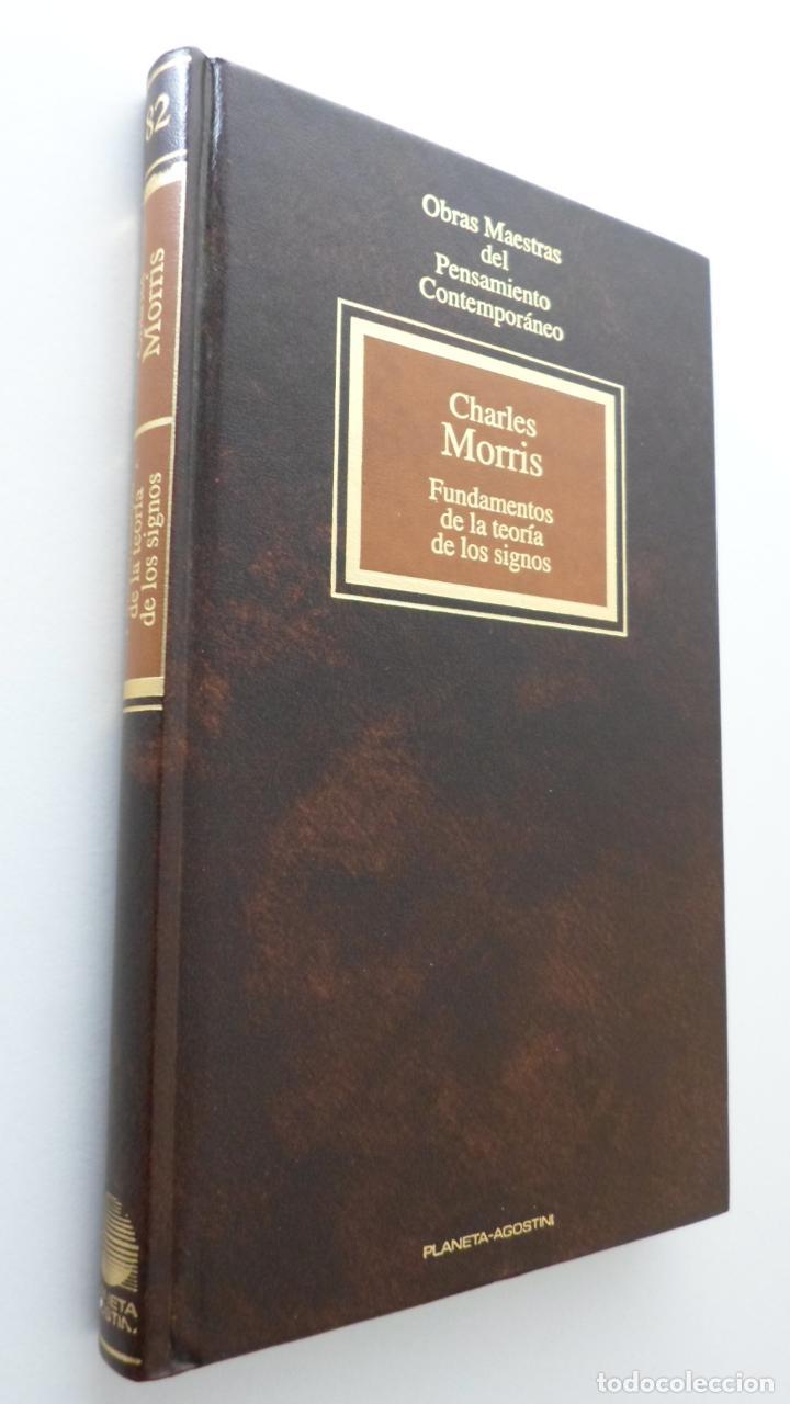 FUNDAMENTOS DE LA TEORÍA DE LOS SIGNOS - MORRIS, CHARLES W. (Libros de Segunda Mano - Ciencias, Manuales y Oficios - Pedagogía)
