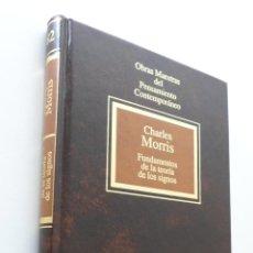 Libros de segunda mano: FUNDAMENTOS DE LA TEORÍA DE LOS SIGNOS - MORRIS, CHARLES W.. Lote 151839800