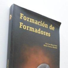 Libros de segunda mano: FORMACIÓN DE FORMADORES - HUESO LÓPEZ, JUAN LUIS. Lote 151840964