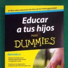 Libros de segunda mano - EDUCAR A TUS HIJOS para Dummies / Helen Brown / 2014 - 152102114