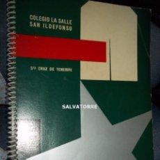 Libros de segunda mano - COLEGIO LA SALLE SAN ILDEFONSO.SANTA CRUZ DE TENERIFE.CURSO 1960-1961.CANARIAS - 153359358