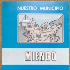 Libros de segunda mano: MIENGO (CANTABRIA) - NUESTRO MUNICIPIO - ESTUDIO REALIZADO COLEGIO PÚBLICO DE CUCHIA - AÑO 1985. Lote 155098534