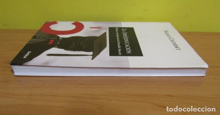 Libros de segunda mano: LA (DES)EDUCACION NOAM CHOMSKY EDICION E INTRODUCCION DONALDO MACEDO LETRAS DE CRITICA 2003 - Foto 3 - 155313190