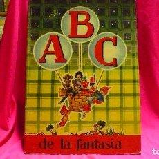 Libros de segunda mano: EL ABC DE LA FANTASIA, EDITORIAL ROMA, BARCELONA, DIBUJOS DE M.NIVBÓ.. Lote 155890350
