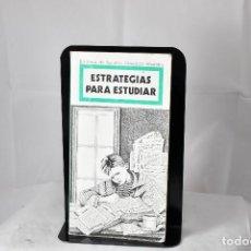 Libros de segunda mano: ESTRATEGIAS PARA ESTUDIAR . LASTERRA, JUAN. Lote 155968586