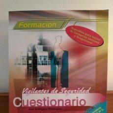 Libros de segunda mano: VIGILANTES DE SEGURIDAD. CUESTIONARIO Y SOLUCIONES. CEP EDITORIAL. NUEVA ED 2006 ISBN 8498335973. Lote 156874310